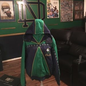 Like New- Notre Dame ProPlayer Coat